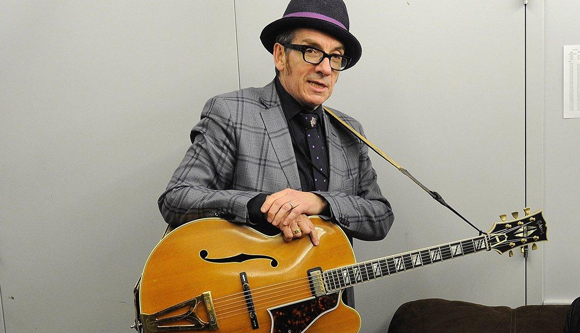 Singer, Musician, Elvis Costello, August 2014 Celebrity Birthday Milestones