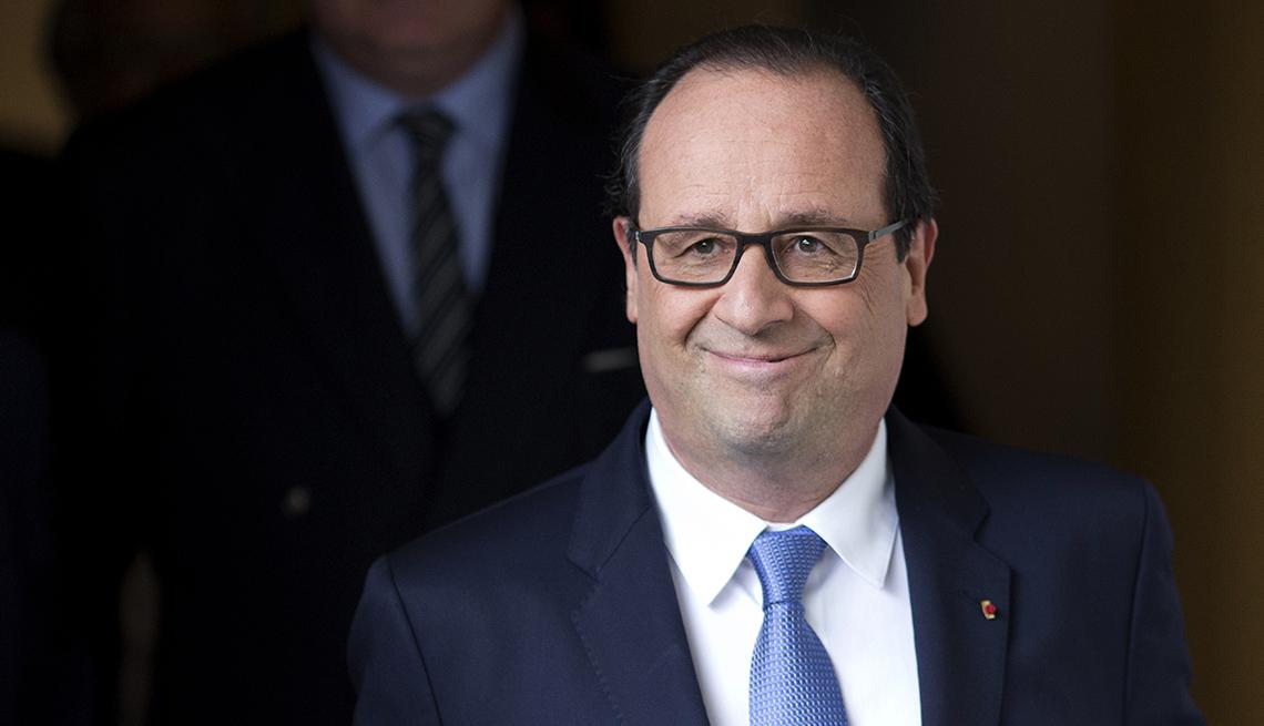 Francois Hollande, France, President, August 2014 Celebrity Birthday Milestones