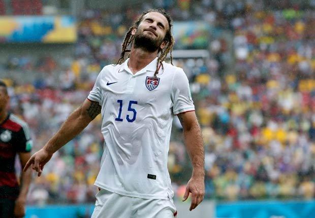 Kyle Beckerman - Peinados extraños en la Copa Mundial de fútbol