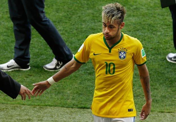 Neymar Jr - Peinados extraños en la Copa Mundial de fútbol