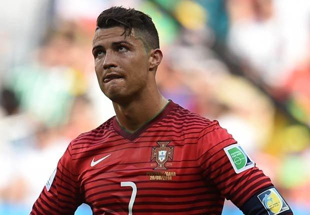 Cristiano Ronaldo - Peinados extraños en la Copa Mundial de fútbol