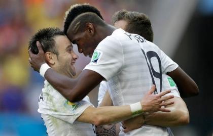 Paul Pogba - Peinados extraños en la Copa Mundial de fútbol