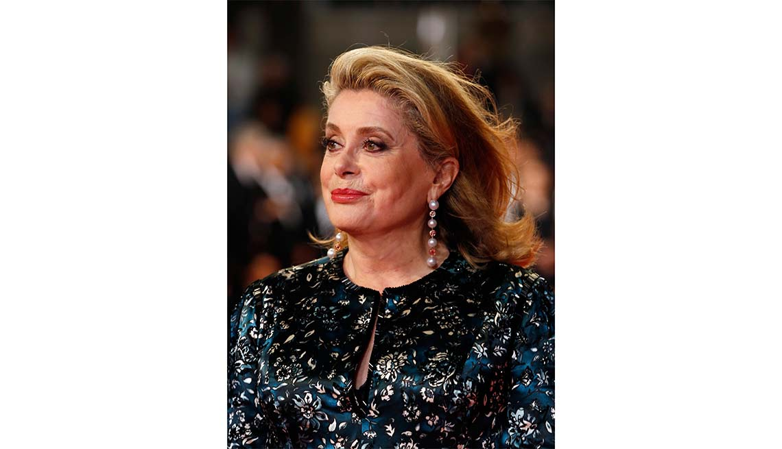 Actress, Catherine Deneuve, Look Who's A Grandma