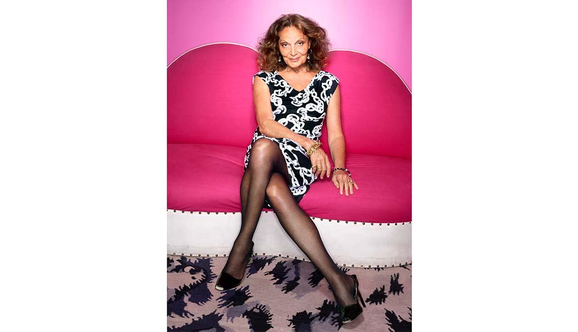Fashion Designer, Diane Von Furstenberg, Look Who's A Grandma