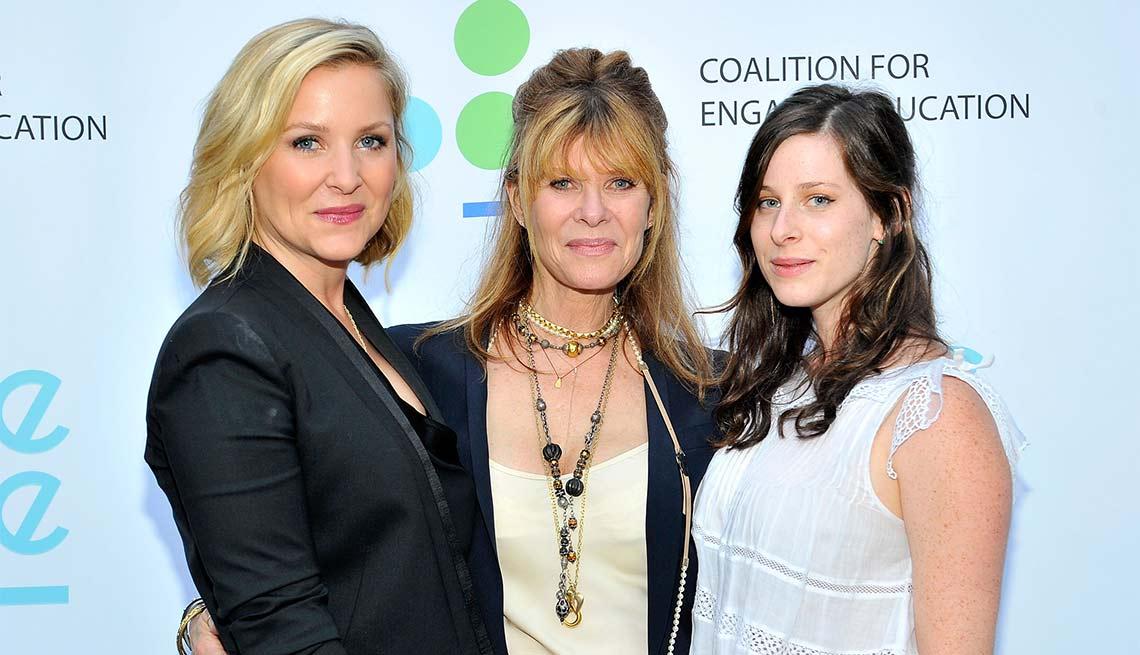 Kate Capshaw, Jessica Capshaw, Sasha Spielberg, Look Who's A Grandma