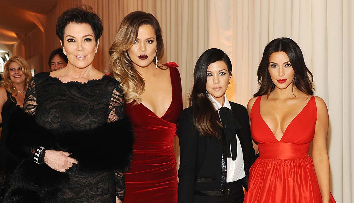 Kris Jenner, Khloe Kardashian, Kourtney Kardashian, Kim Kardashian, Look Who's A Grandma