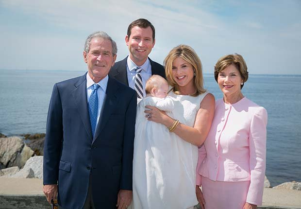 Laura Bush: Look Who's a Grandma!
