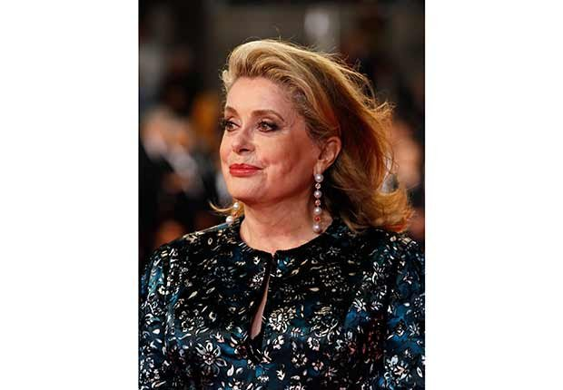 Catherine Deneuve: Look Who's a Grandma!