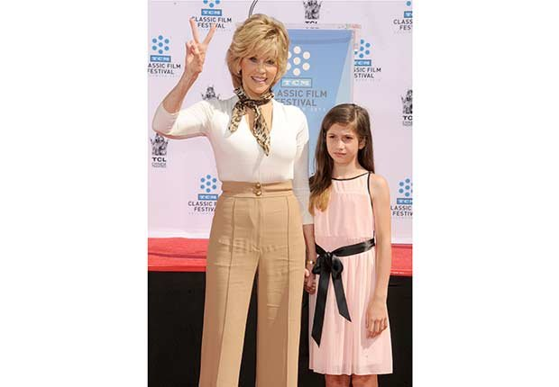 Jane Fonda: Look Who's a Grandma!
