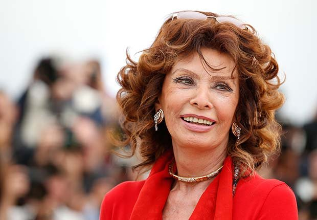 Sophia Loren: Look Who's a Grandma!