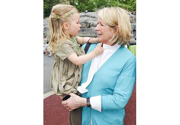 Martha Stewart: Look Who's a Grandma!