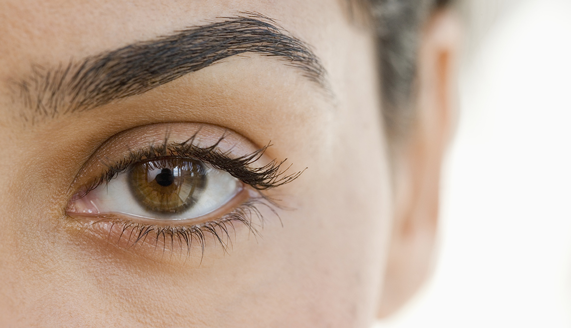 Close Up, Eye, Woman, Eyerow, Look Younger