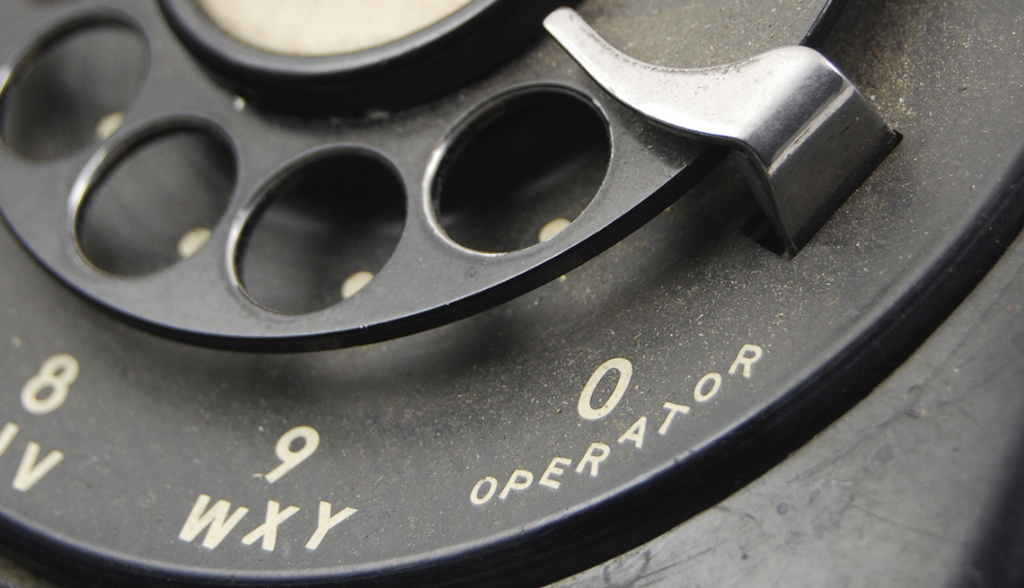 You Know You're a Boomer if, rotary dial black telephone