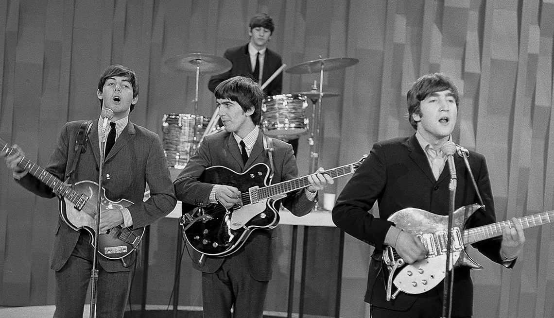You Know You're a Boomer if, The Beatles on the Ed Sullivan Show