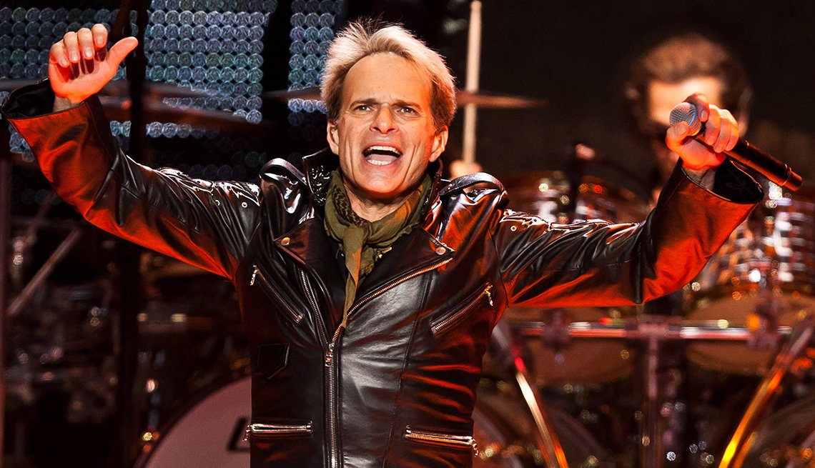 David Lee Roth, 60, Rockstar, Musician, Singer, Van Halen, October 2014 Celebrity Birthday Milestones