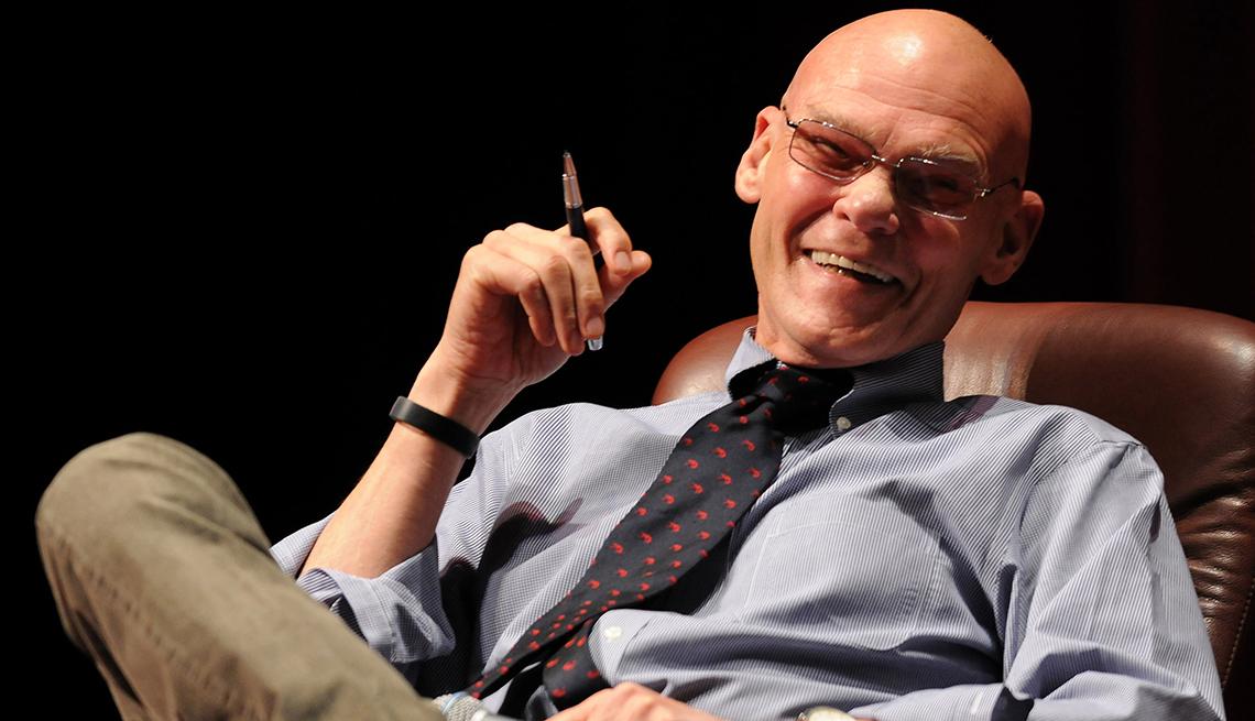 James Carville, 70, Media Personality, October 2014 Celebrity Birthday Milestones