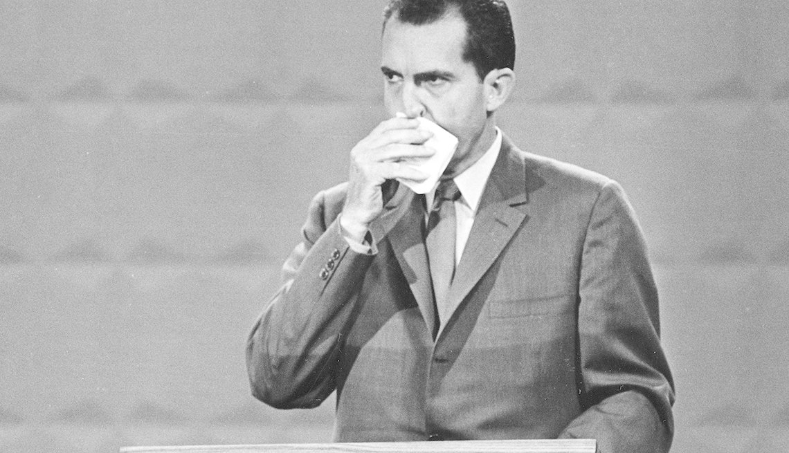 You Know You're a Boomer if, Nixon sweating in debate, presidential debate, televised debate