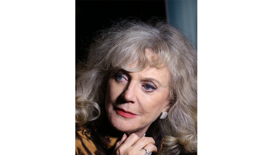 Actress Blythe Danner, Celebrity Grey Hairstyles