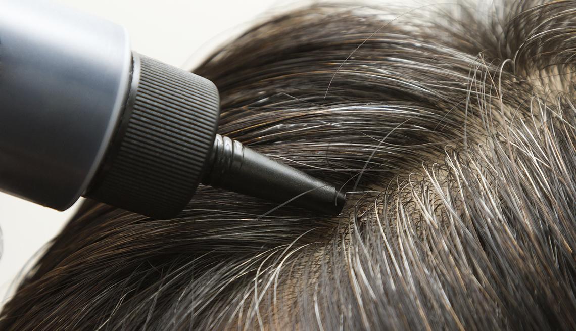 Close Up, Bottle, Hair Dye, Hair, Head, Roots, Grey Hair, Going Grey Tips