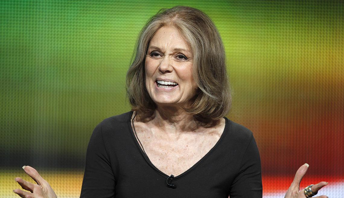 Gloria Steinem, Activist, Writer, Celebrity Grey Hairstyles