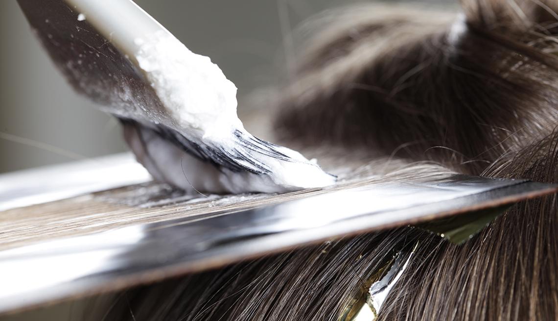 Hair, Highlights, Hair Dye, Going Grey Tips