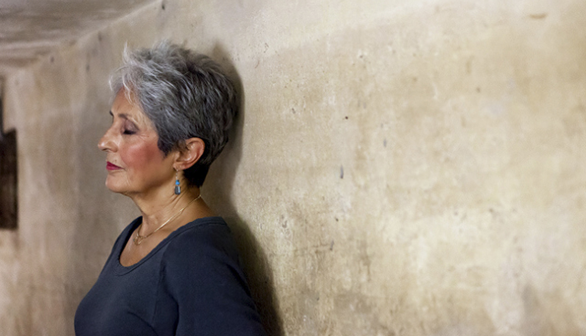 Joan Baez, Singer, Musician, Activist, Celebrity Grey Hairstyles