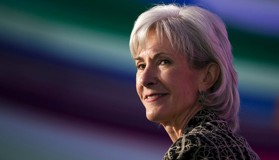 Kathleen Sebelius, Policitican, Public Figure, Celebrity Grey Hairstyles