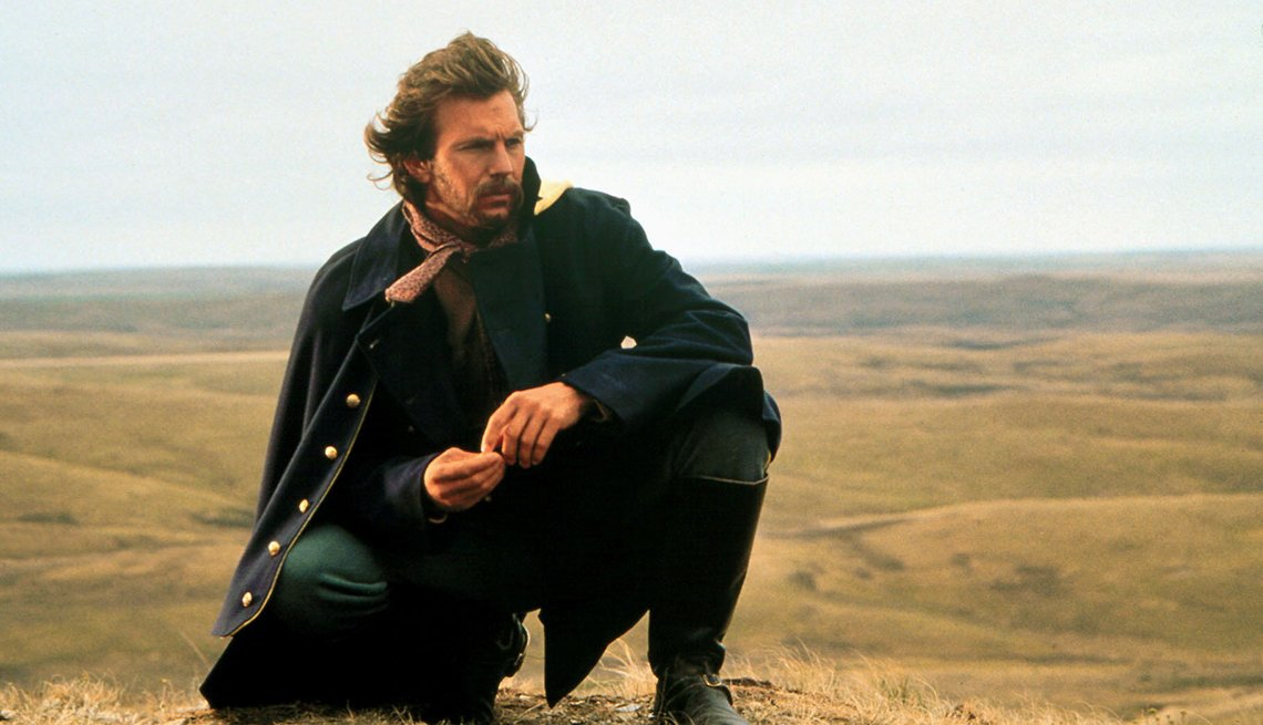 Dances With Wolves, Movie, Kevin Costner AARP Interview