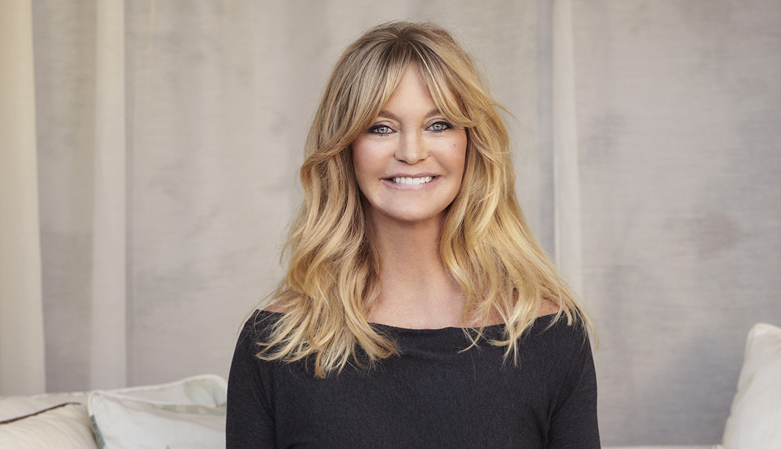 Actress, Goldie Hawn, Mindfulness