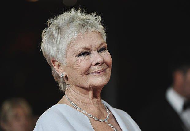 Judi Dench - Personalidades con canas