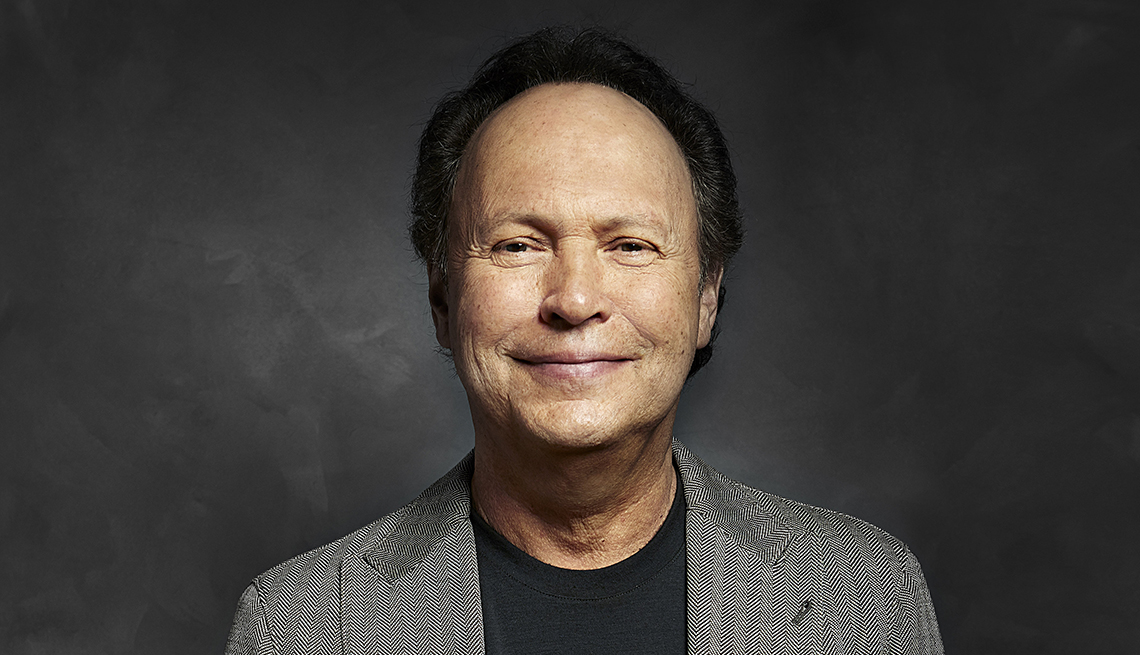 Billy Crystal, Actor, Comedien, Funnyman, AARP Interview