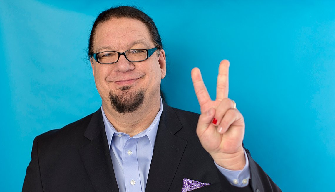 Penn Jillette, Actor, 2015 March Celebrity Birthday Milestones
