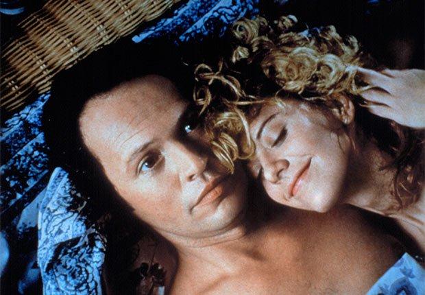 Billy Crystal en una escena de la película When Harry Met Sally con Meg Ryan