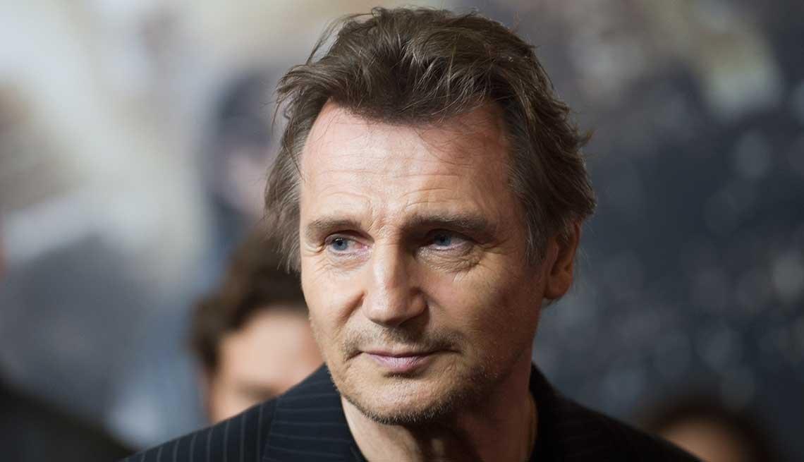 Liam Neeson - Hombres sexy mayores de 50 años