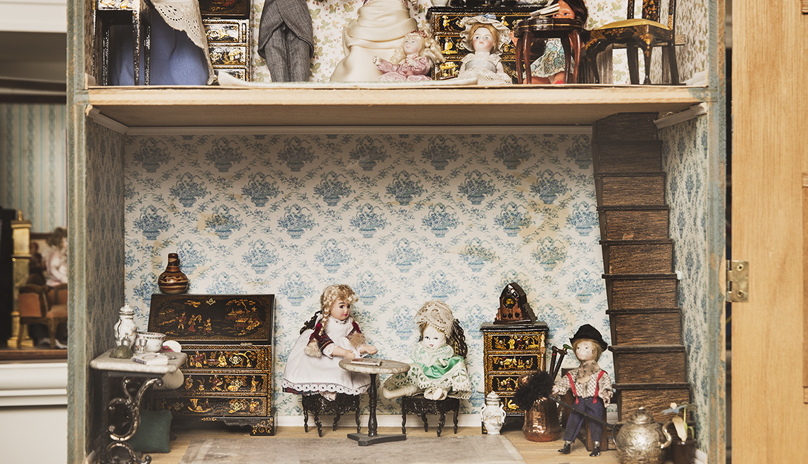 Dollhouse, Dolls, Toys, Dr Ruth, Therapist, Toy Collectibles