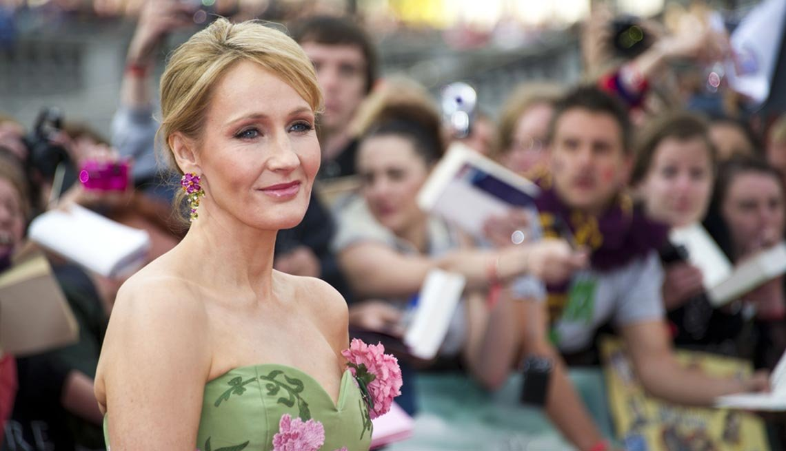 July 2015 Milestone Birthdays, JK Rowling