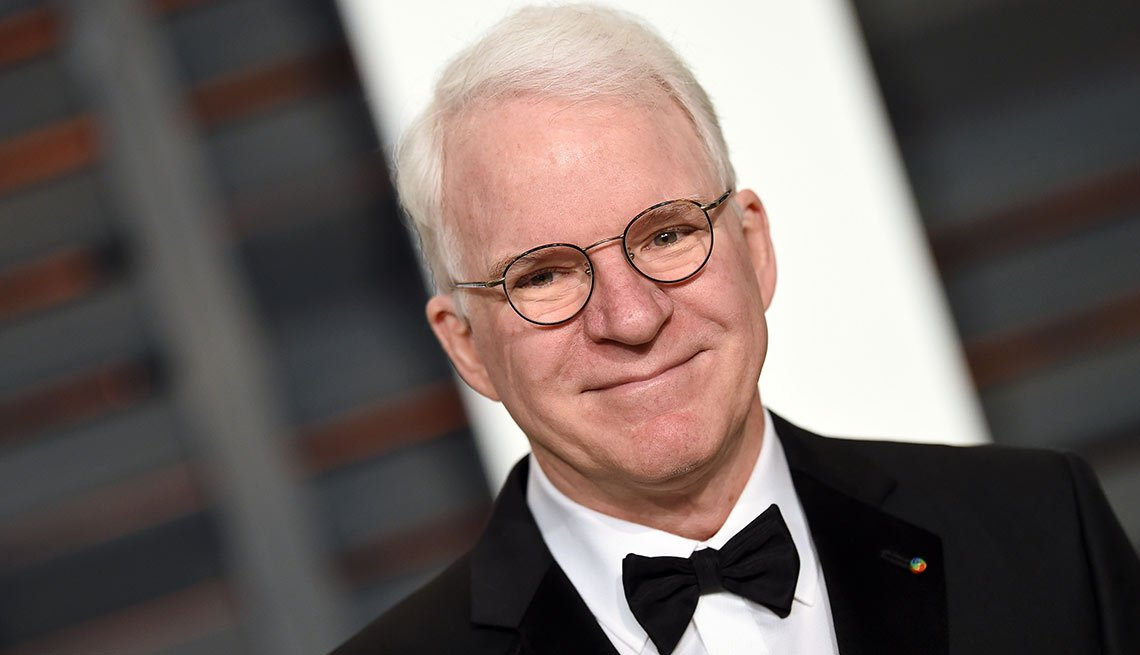 August Milestone Birthdays, Steve Martin, Actor, Writer, Comedien, 70