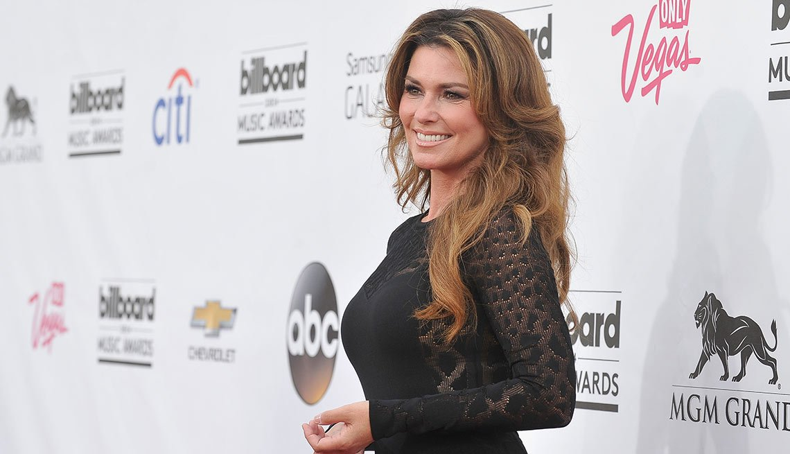 August Milestone Birthdays, Shania Twain, Musician, Singer, 50