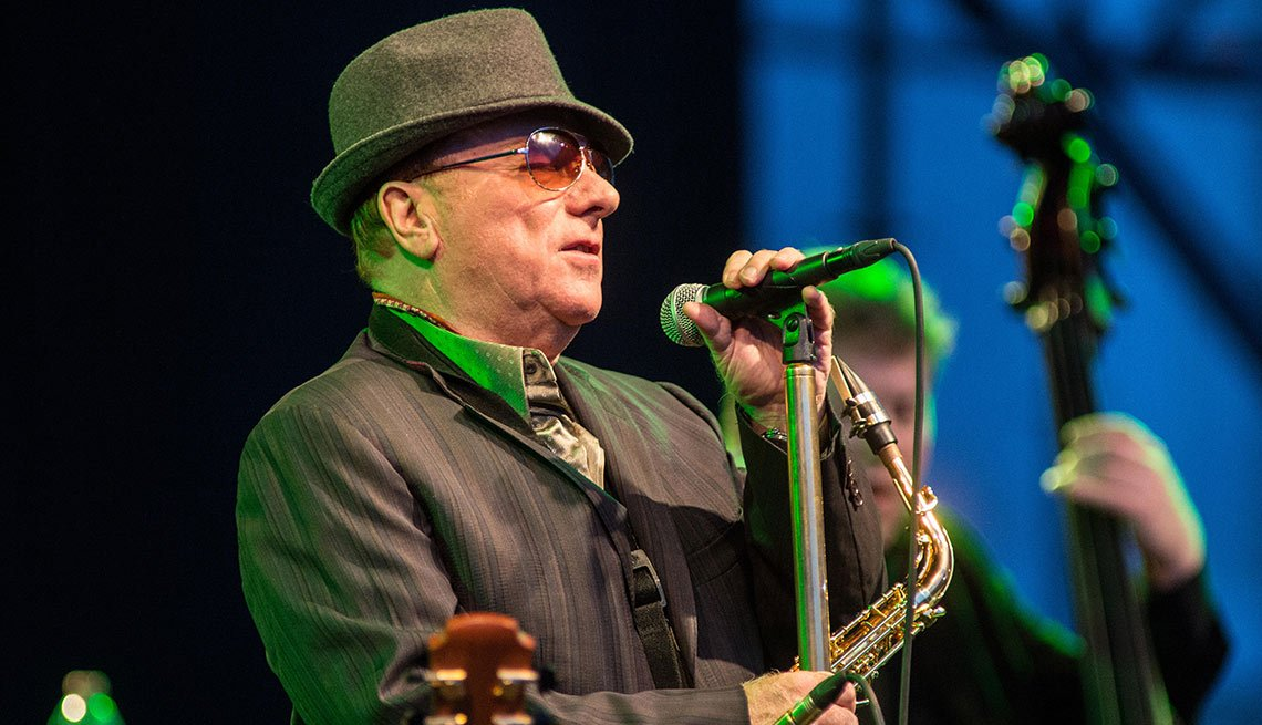 August Milestone Birthdays, Van Morrison, Musician, 70