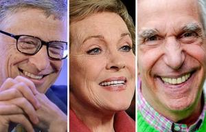 Cumpleaños en octubre, Bill Gates, Julie Andrews, Henry Winkler