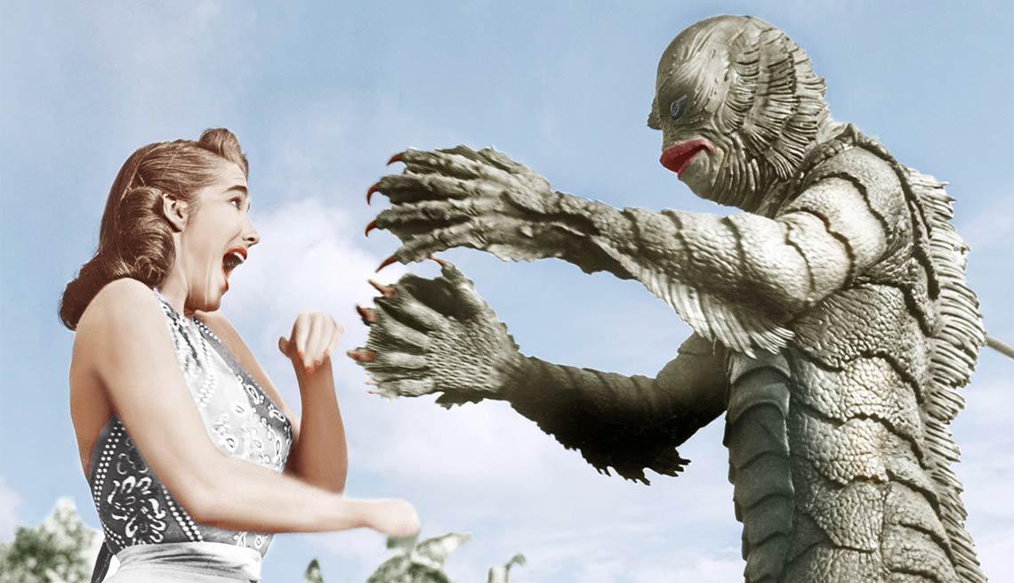 item 8 of Gallery image - El monstruo de la laguna negra - Noche de brujas, espantos y monstruos legendarios