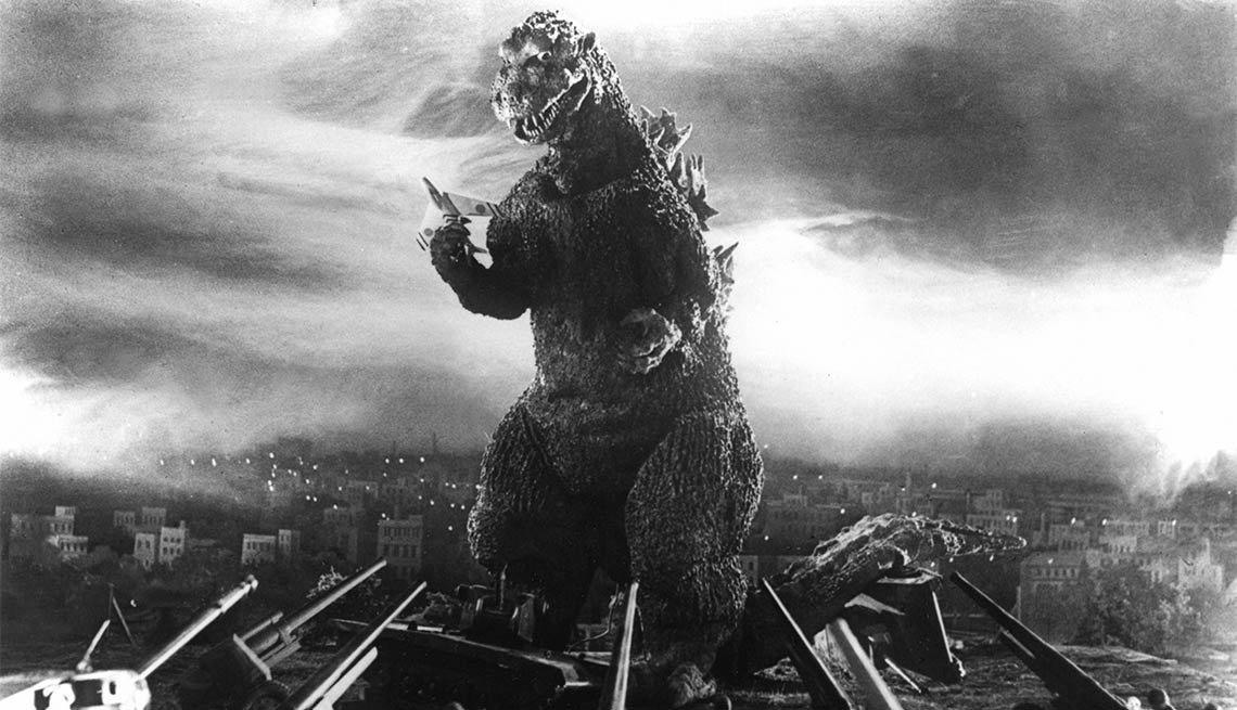 Godzilla - Noche de brujas, espantos y monstruos legendarios