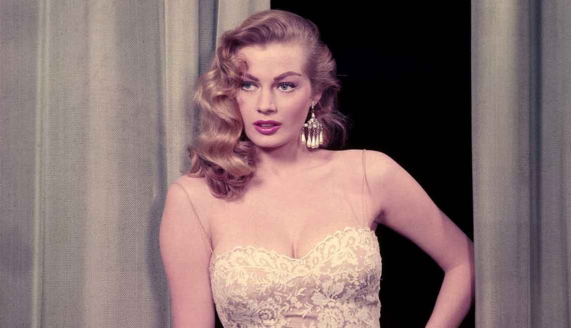 Famous People We've Lost in 2015, Anita Ekberg