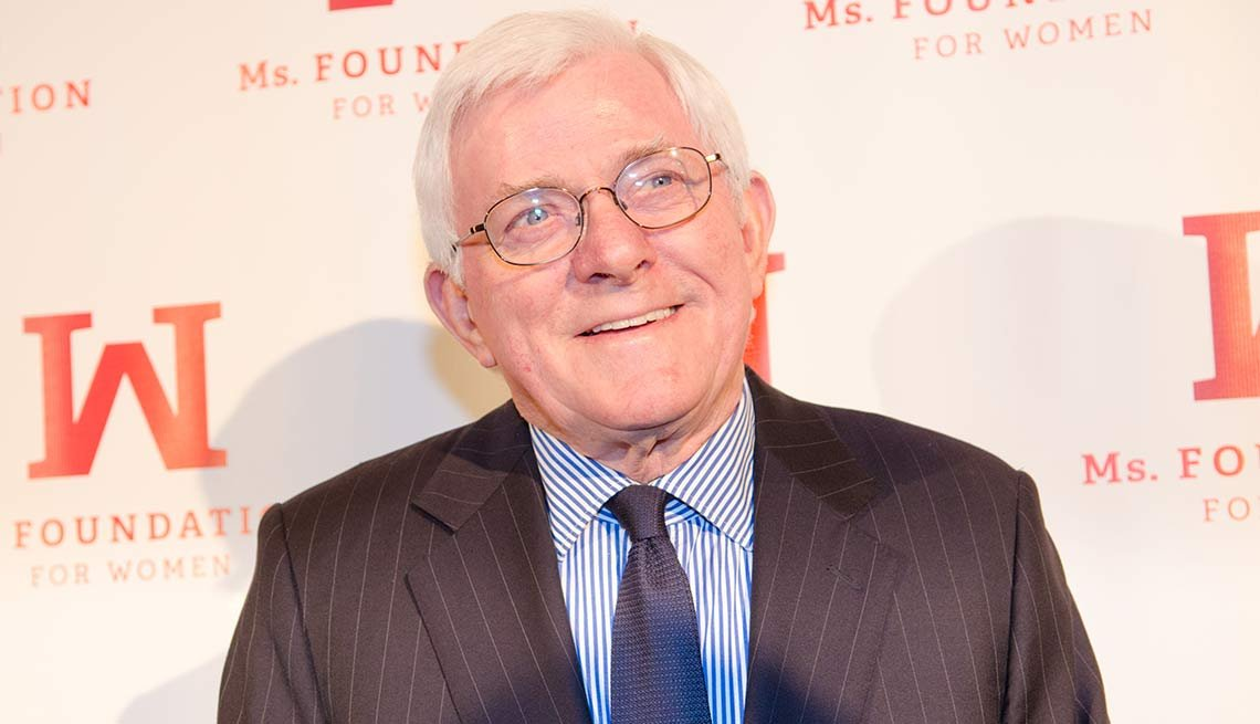 2015 December Milestone Birthdays, Phil Donahue