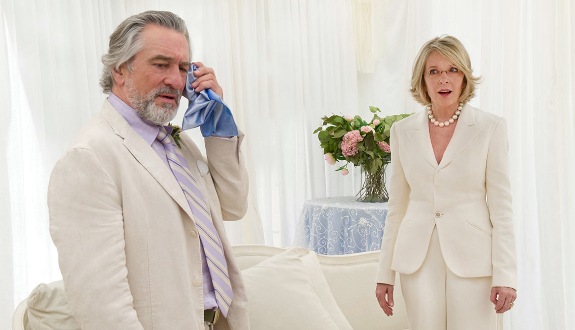 Diane Keaton on Her Leading Men, Keaton and De Niro in The Big Wedding