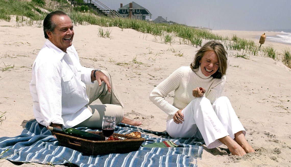Diane Keaton on Her Leading Men, Keaton and Nicholson in Something's Gotta Give