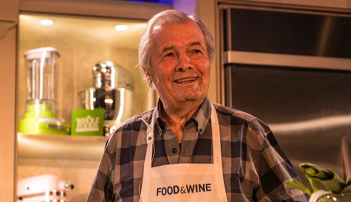 Jacques Pepin, Chef, Cook, Kitchen, 2015 Milestone Birthdays