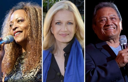 2015 December Milestone Birthdays, Cassandra Wilson, Diane Sawyer and Armando Manzanero