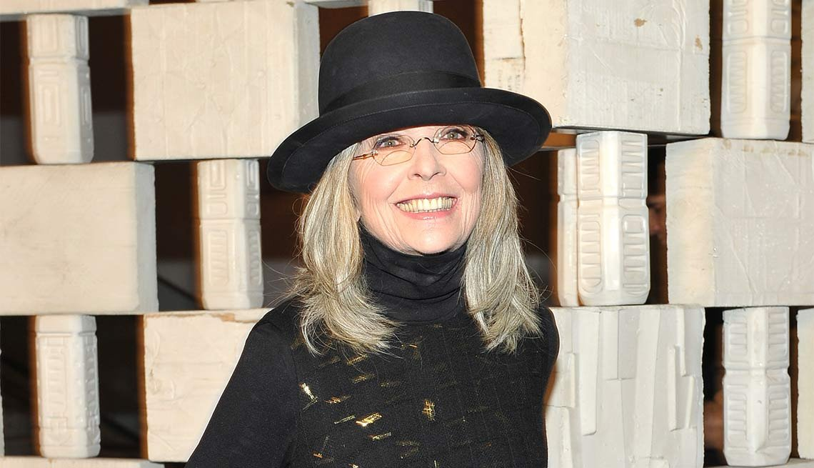 January Milestone Birthdays, Diane Keaton