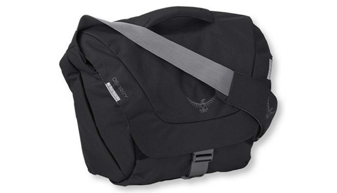 LL Bean, Osprey FlapJack Courier Bag
